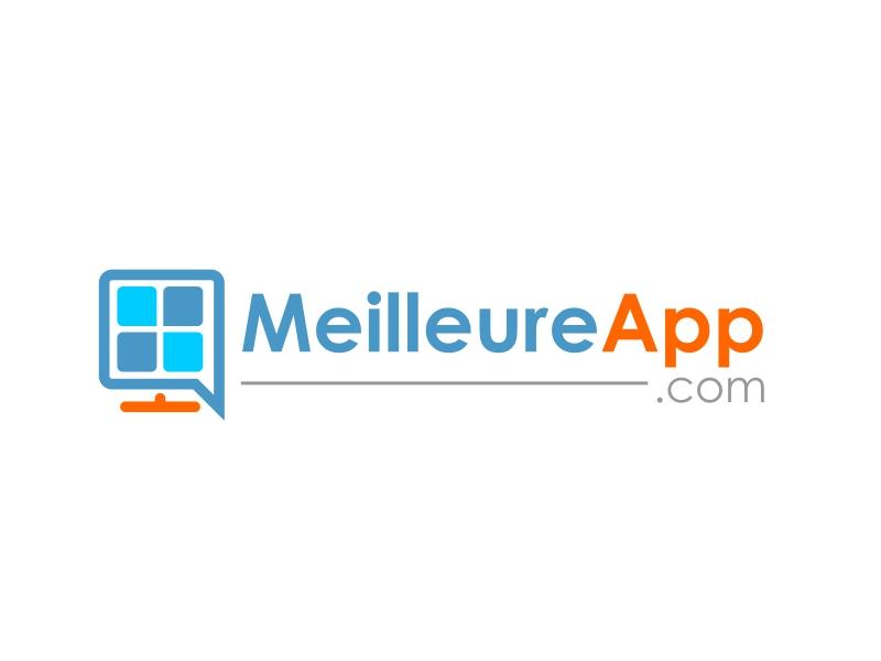 MeilleureApp.com logo design by serprimero