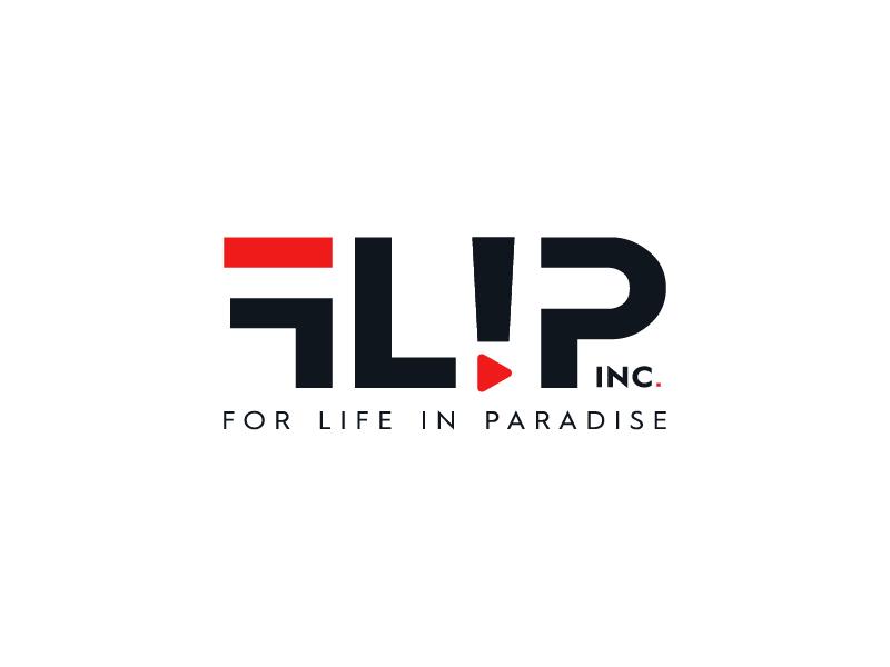 FLIP (For Life In Paradise) Inc. Logo Design