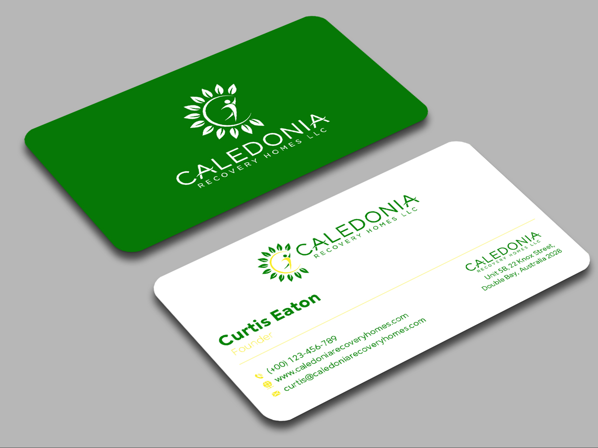 Caledonia Recovery Homes LLC logo design by grea8design