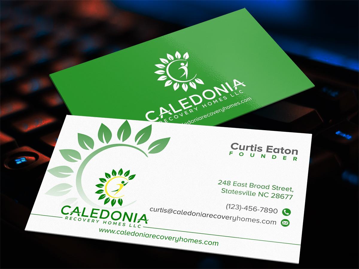 Caledonia Recovery Homes LLC logo design by Thuwan Aslam Haris