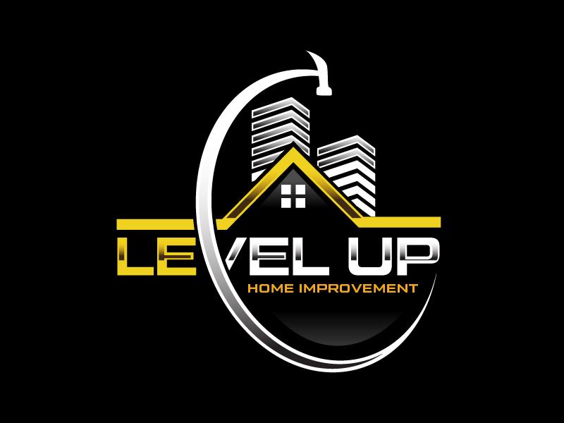 Level Up Home Improvement logo design by czars
