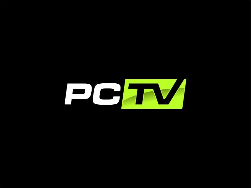 PCTV logo design by mutafailan