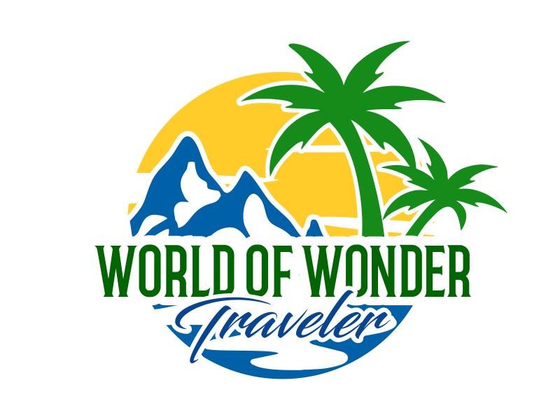 World Of Wonder Traveler logo design by cikiyunn