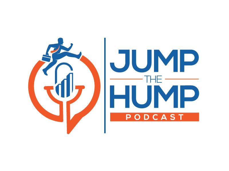 Jump The Hump Podcast Logo Design