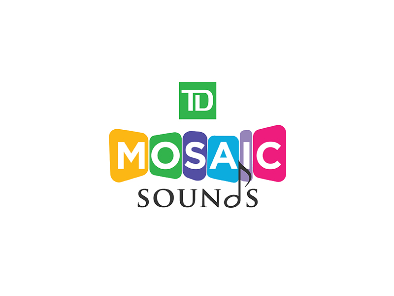 Mosaic Soundz logo design by Roma