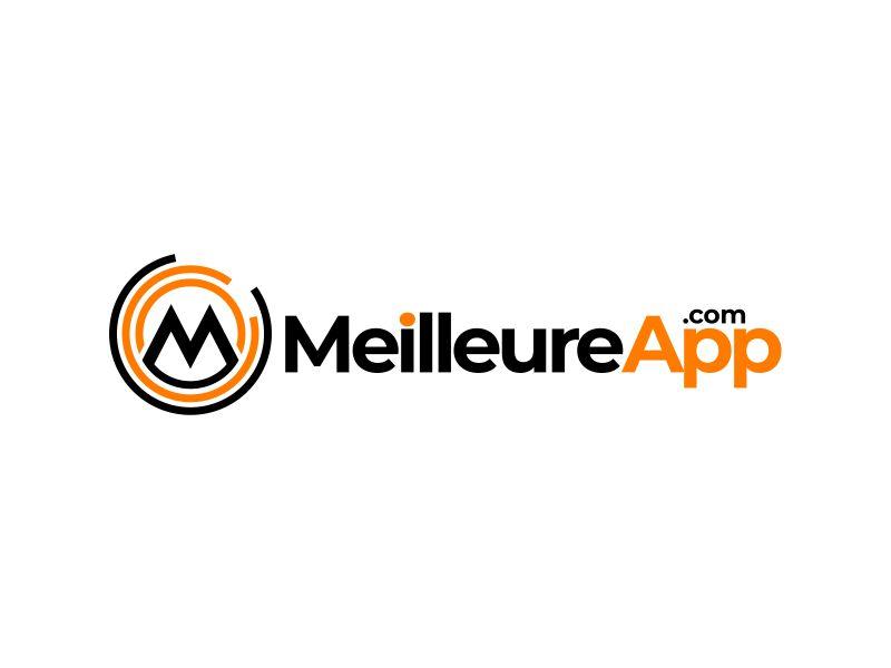 MeilleureApp.com logo design by mutafailan