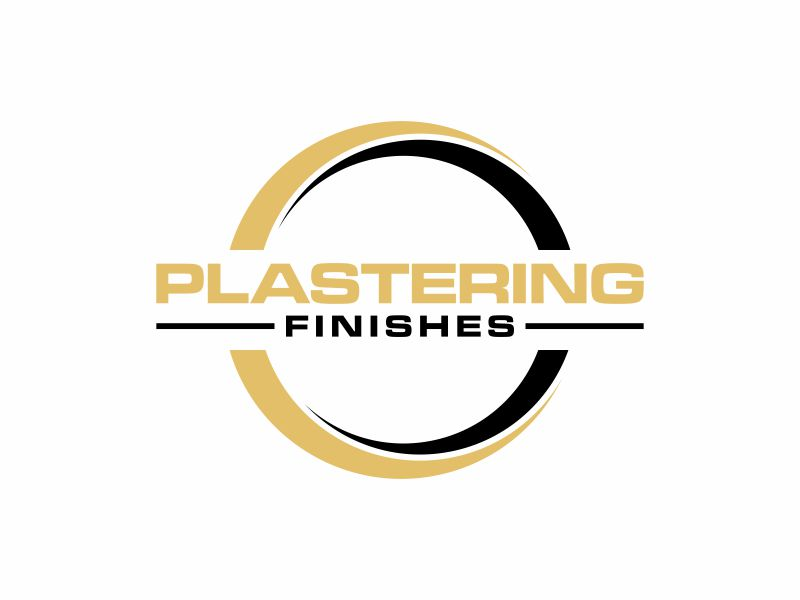 Plastering finishes logo design by ora_creative