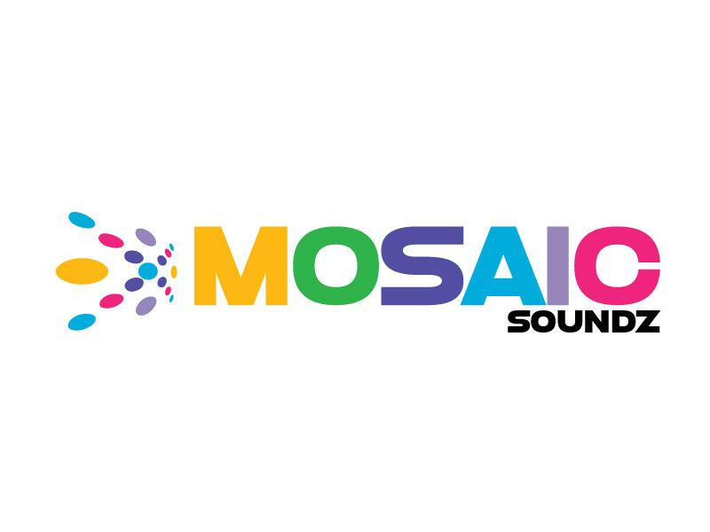 Mosaic Soundz logo design by ElonStark