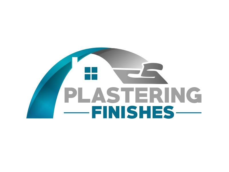 Plastering finishes logo design by serprimero