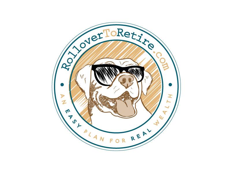 RolloverToRetire.com logo design by LogoInvent