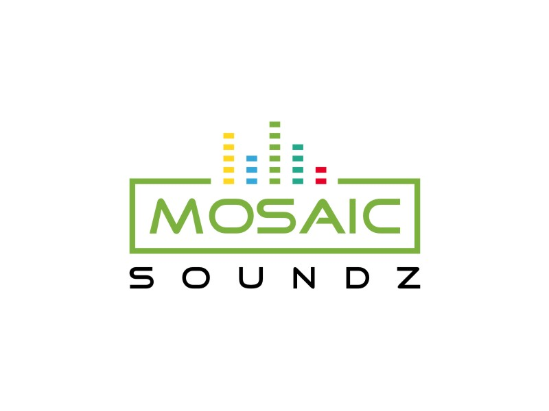 Mosaic Soundz logo design by sabyan