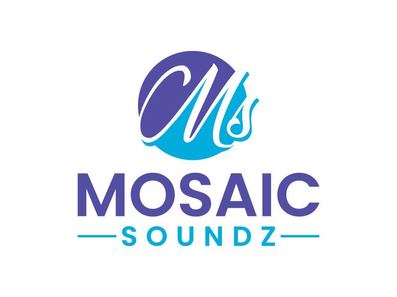 Mosaic Soundz logo design by aryamaity