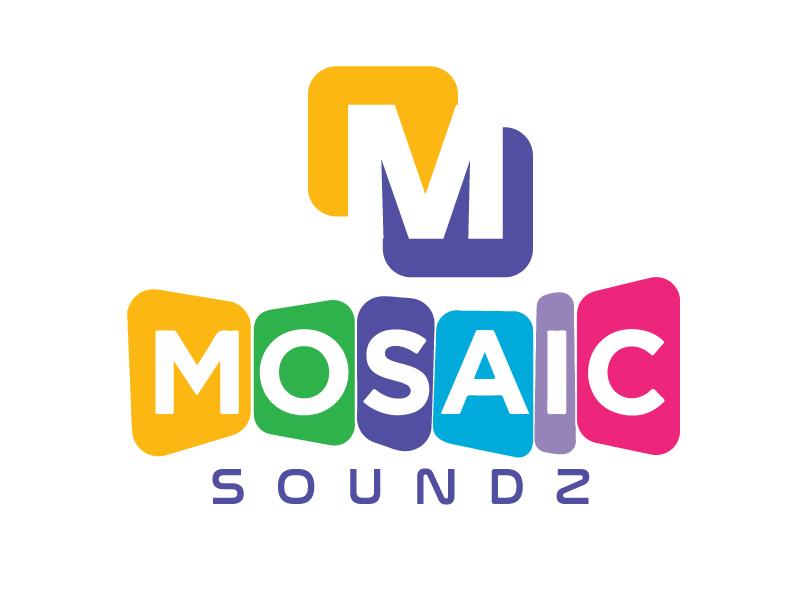 Mosaic Soundz logo design by jaize