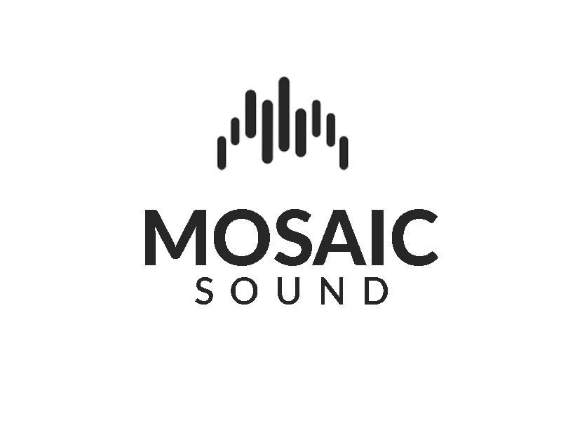 Mosaic Soundz logo design by senja03