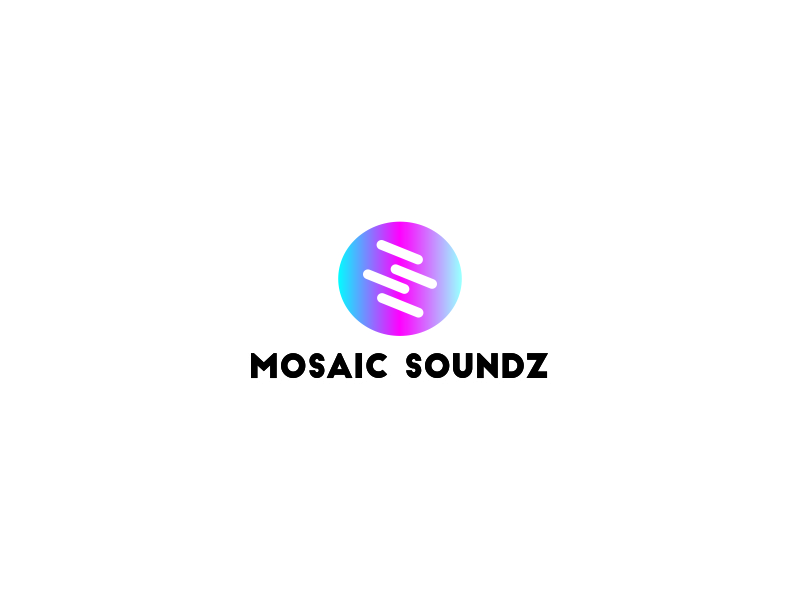 Mosaic Soundz logo design by Greenlight