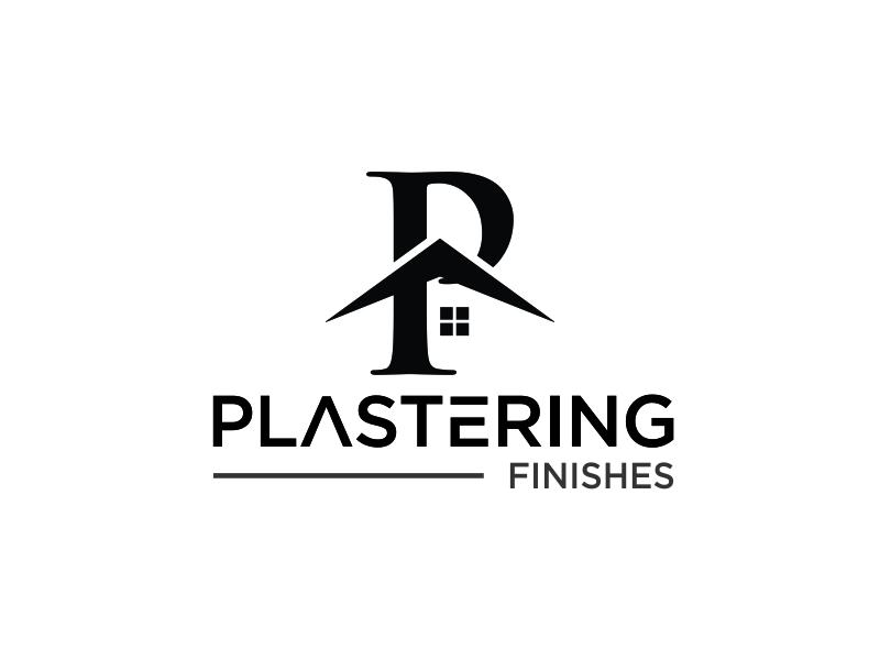 Plastering finishes logo design by santrie