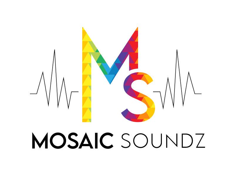 Mosaic Soundz logo design by Bambhole