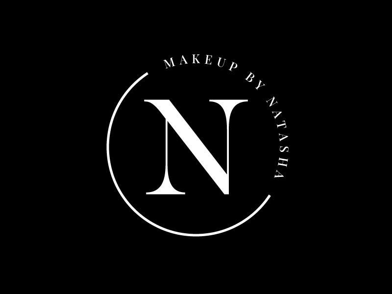 Makeup by Natasha logo design by Mezzala