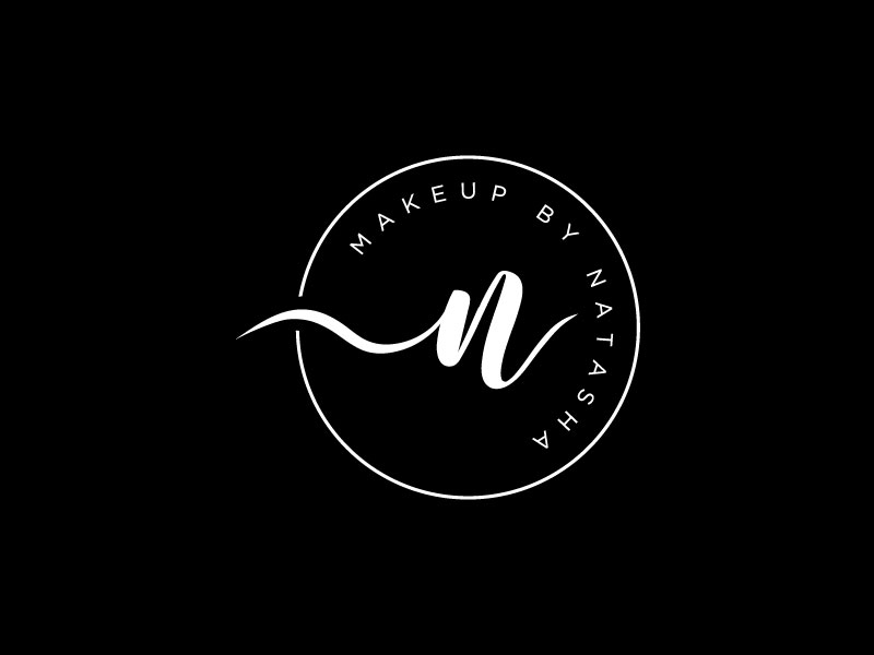 Makeup by Natasha logo design by sndezzo
