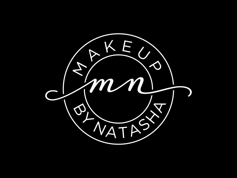 Makeup by Natasha logo design by puthreeone