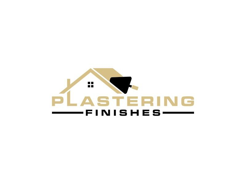Plastering finishes logo design by Diponegoro_