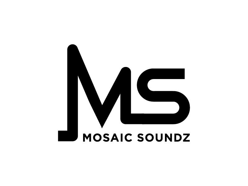 Mosaic Soundz logo design by jonggol