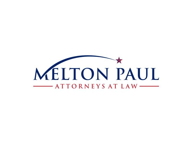 Melton Paul logo design by alby