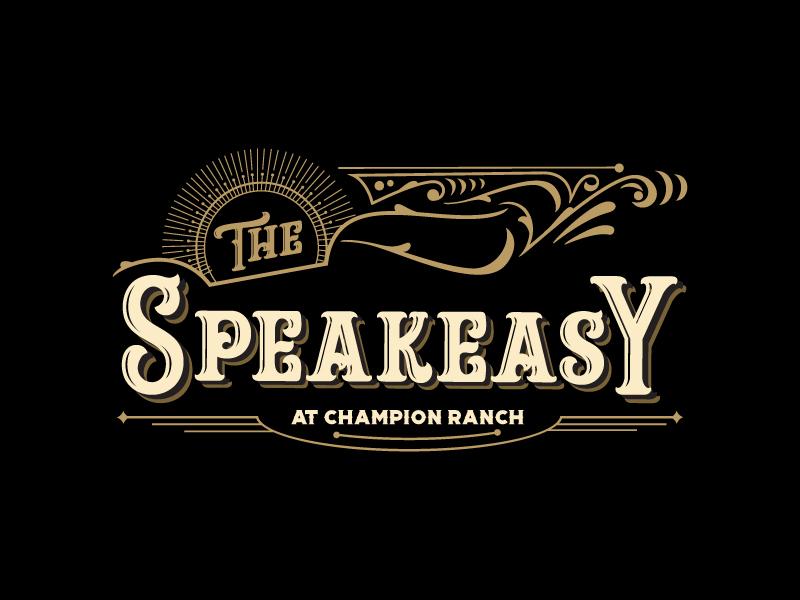 The Speakeasy logo design by yondi