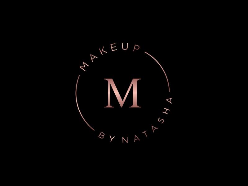 Makeup by Natasha logo design by GassPoll
