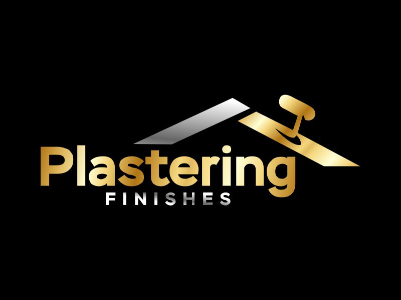 Plastering finishes logo design by Gwerth