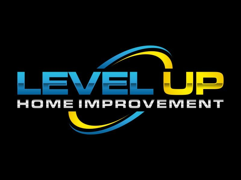 Level Up Home Improvement Logo Design