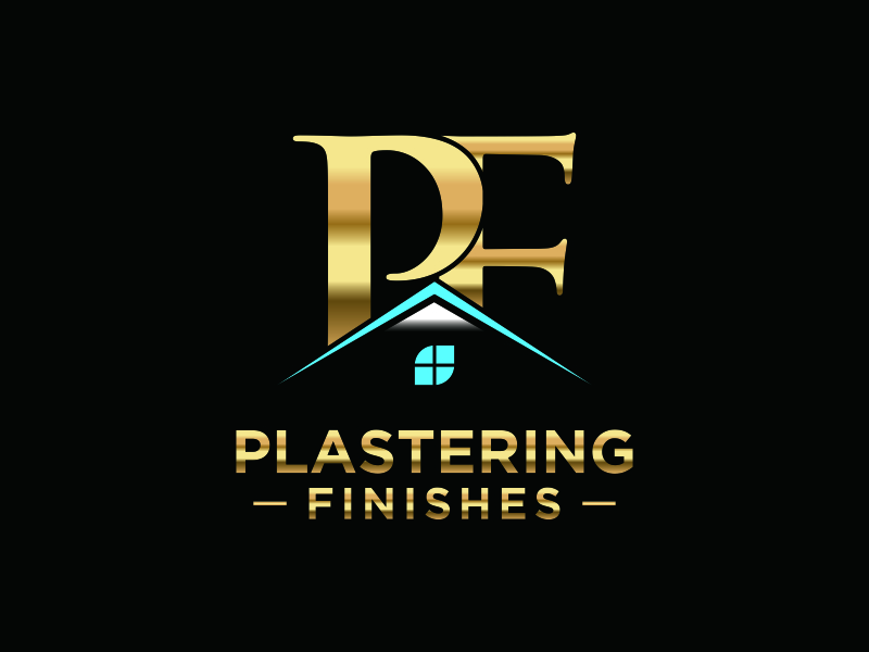 Plastering finishes logo design by bomie