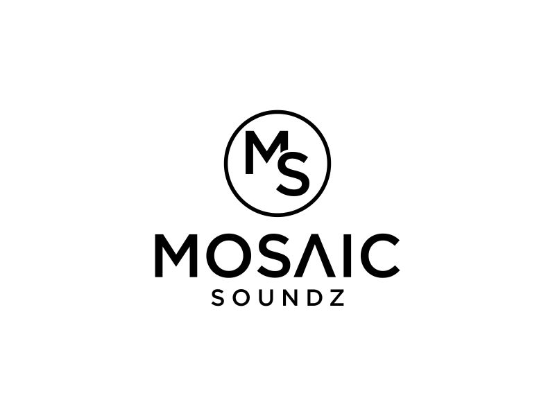 Mosaic Soundz logo design by rian38