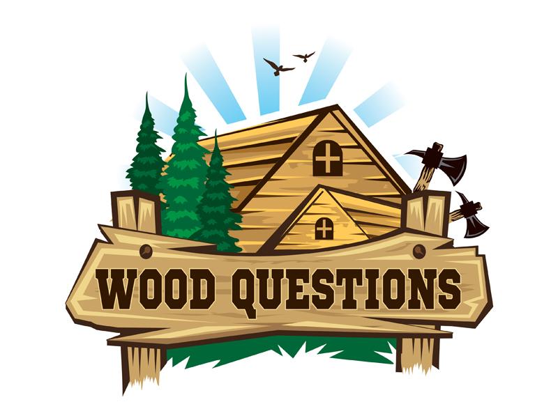 Wood Questions Logo Design