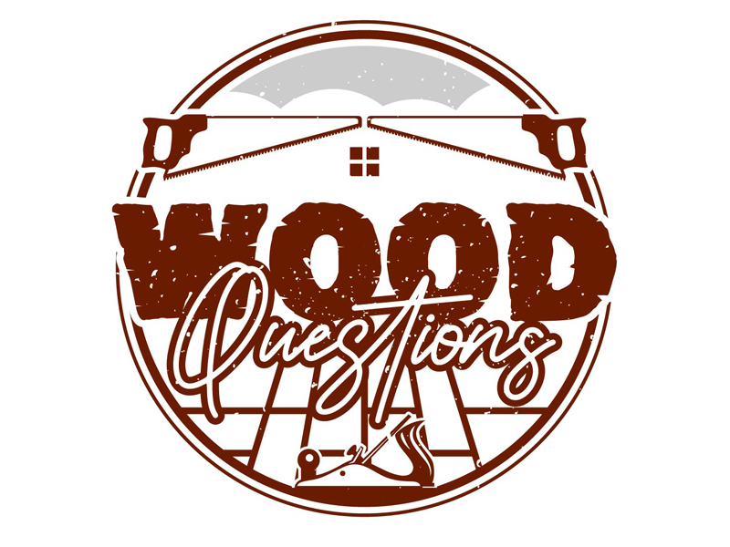 Wood Questions logo design by DreamLogoDesign