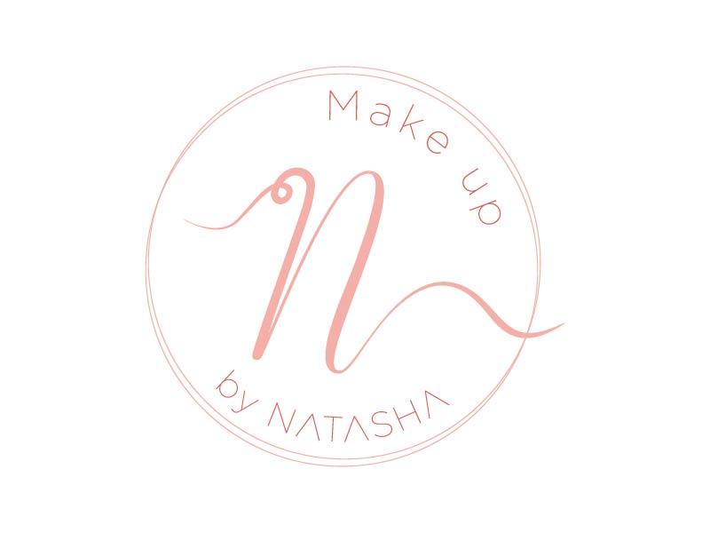 Makeup by Natasha logo design by Mirza