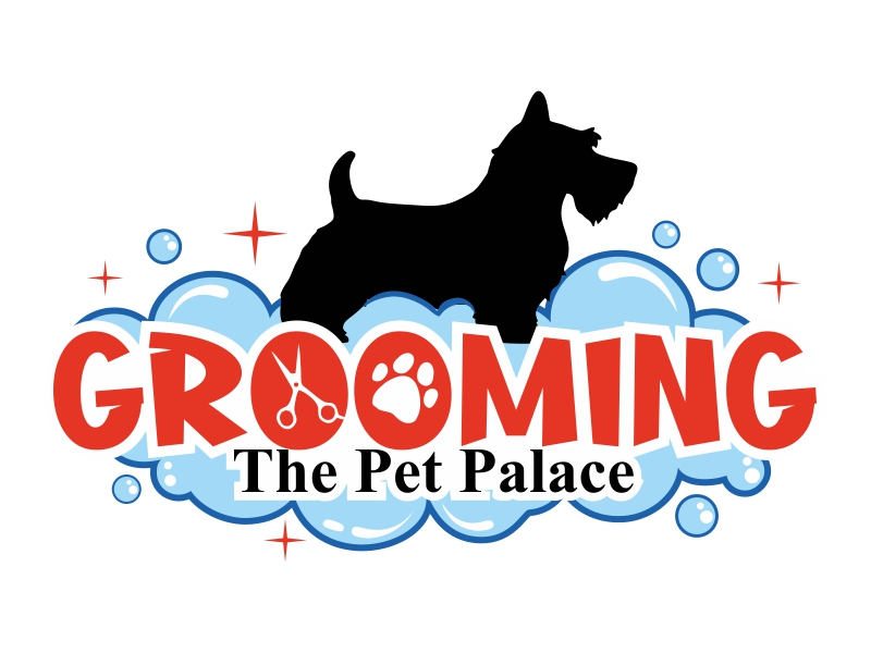 WASH N' GO   Vip Pet Salon logo design by ruki