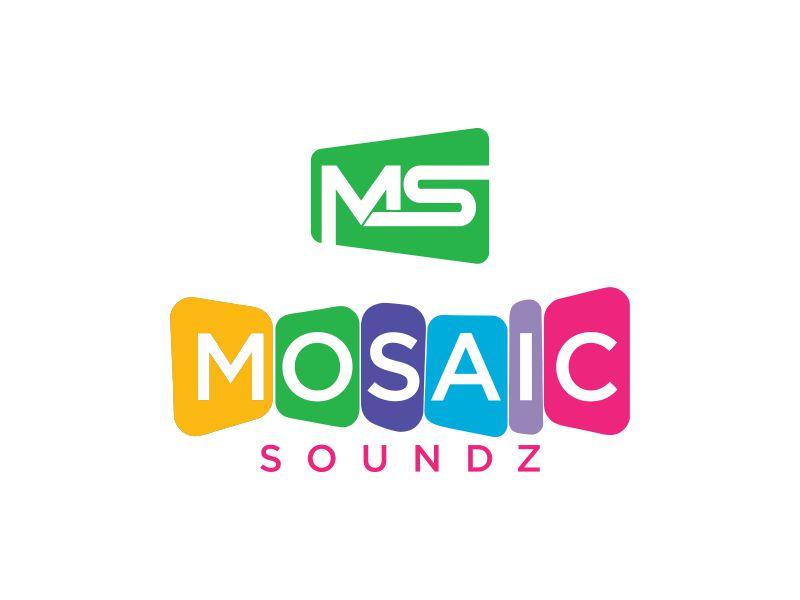 Mosaic Soundz logo design by Purwoko21