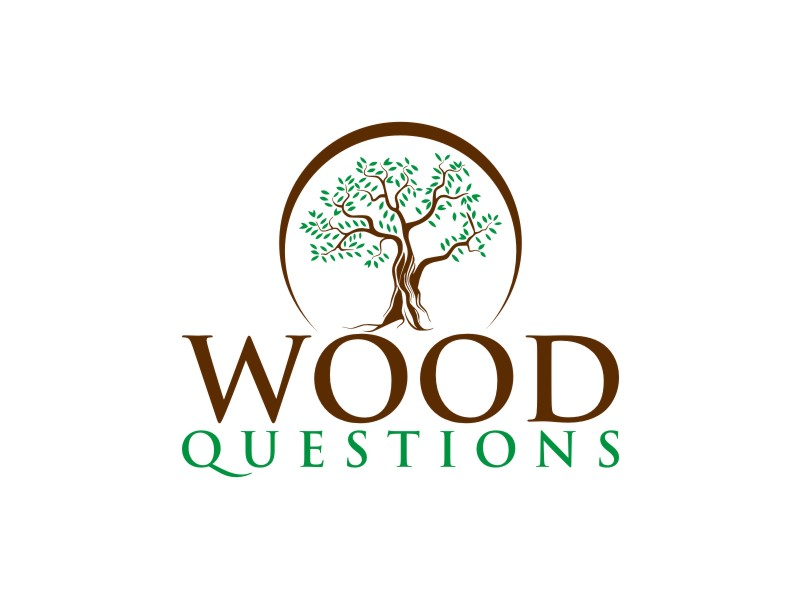 Wood Questions logo design by rief