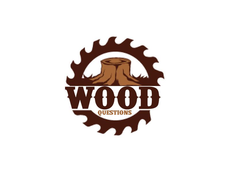 Wood Questions logo design by ElonStark