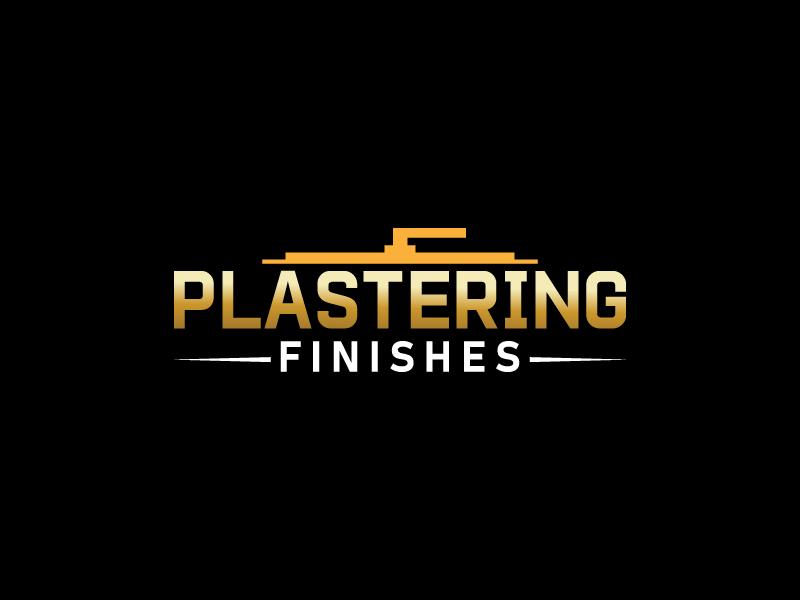 Plastering finishes logo design by Shailesh