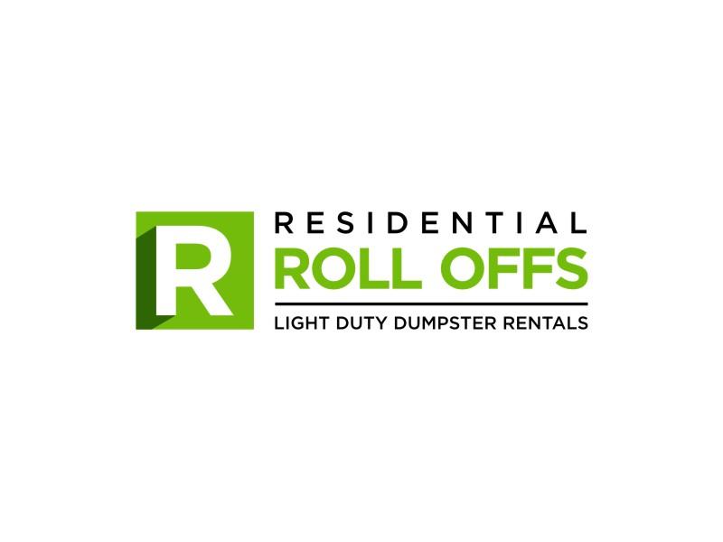 Residential Roll Offs  Tagline: Light Duty Dumpster Rentals logo design by Adundas