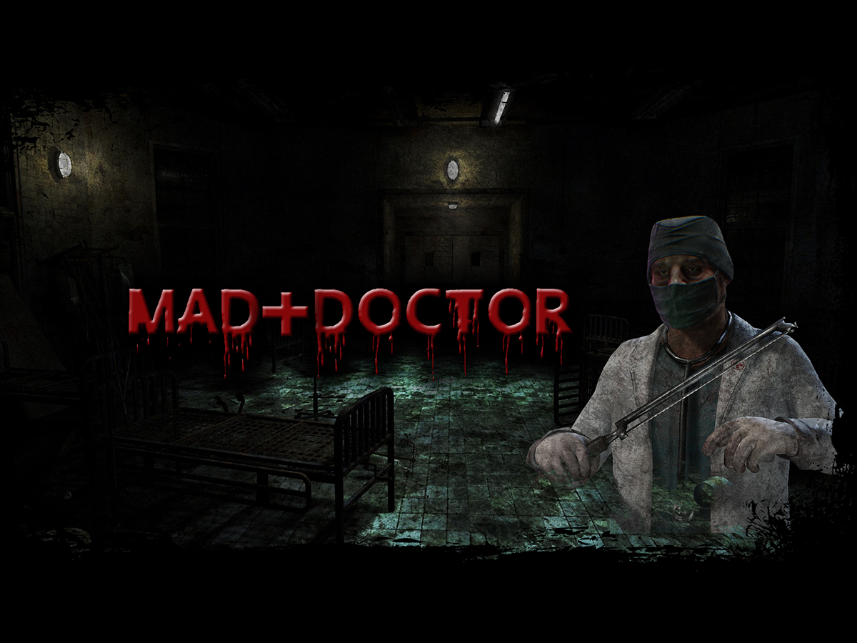 Youtube channel banner - Mad Doctor logo design by PrimalGraphics