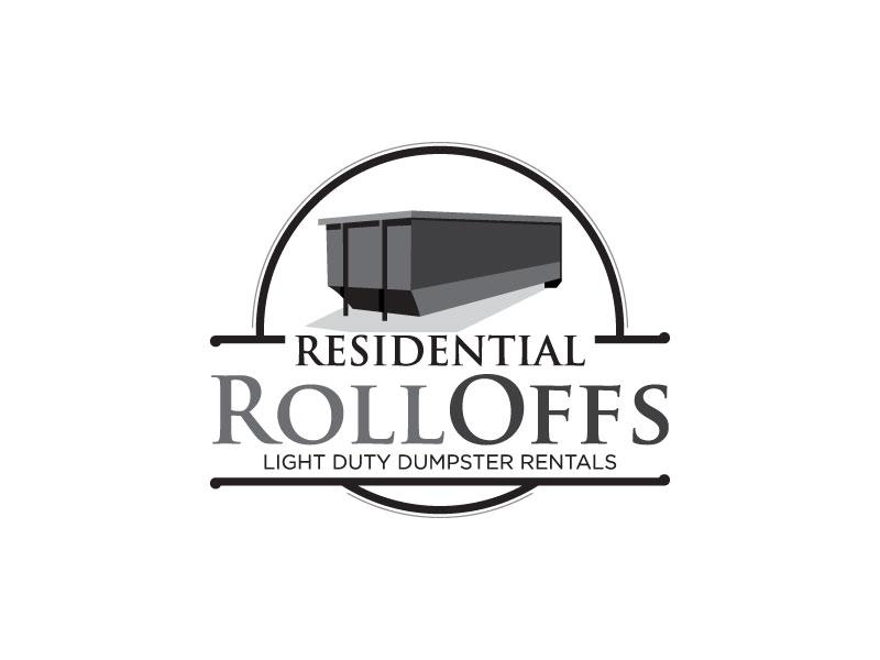 Residential Roll Offs  Tagline: Light Duty Dumpster Rentals logo design by torresace