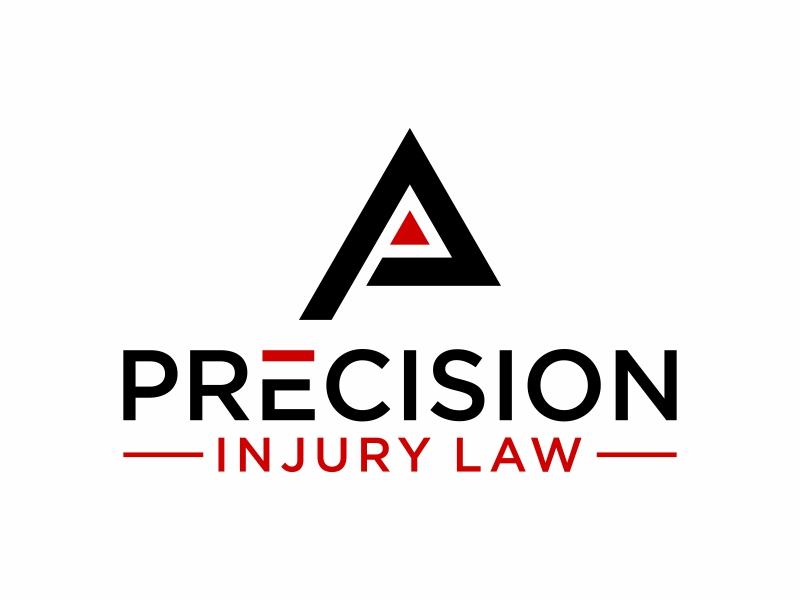 Precision Injury Law Logo Design