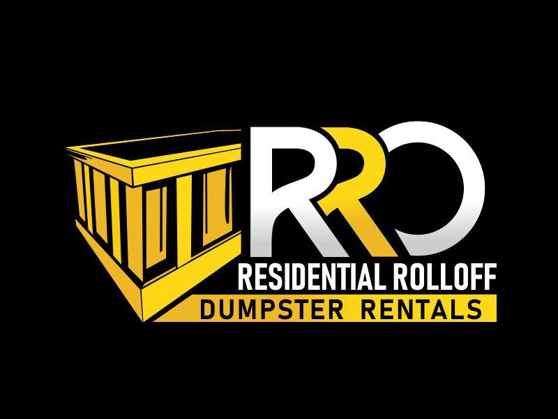 Residential Roll Offs  Tagline: Light Duty Dumpster Rentals logo design by veron
