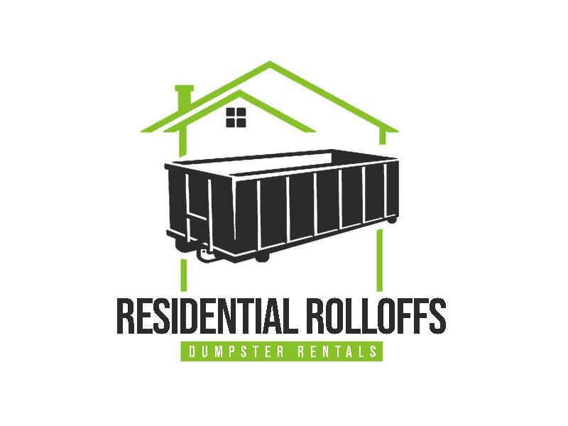 Residential Roll Offs  Tagline: Light Duty Dumpster Rentals logo design by senja03