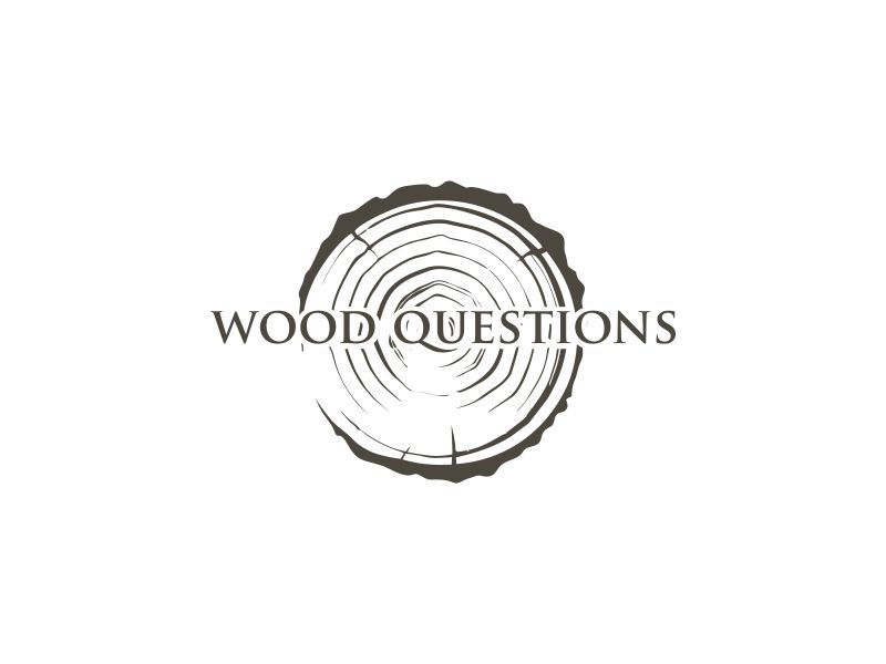 Wood Questions logo design by oke2angconcept