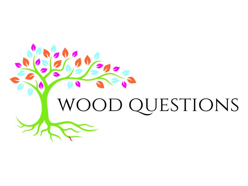 Wood Questions logo design by jetzu