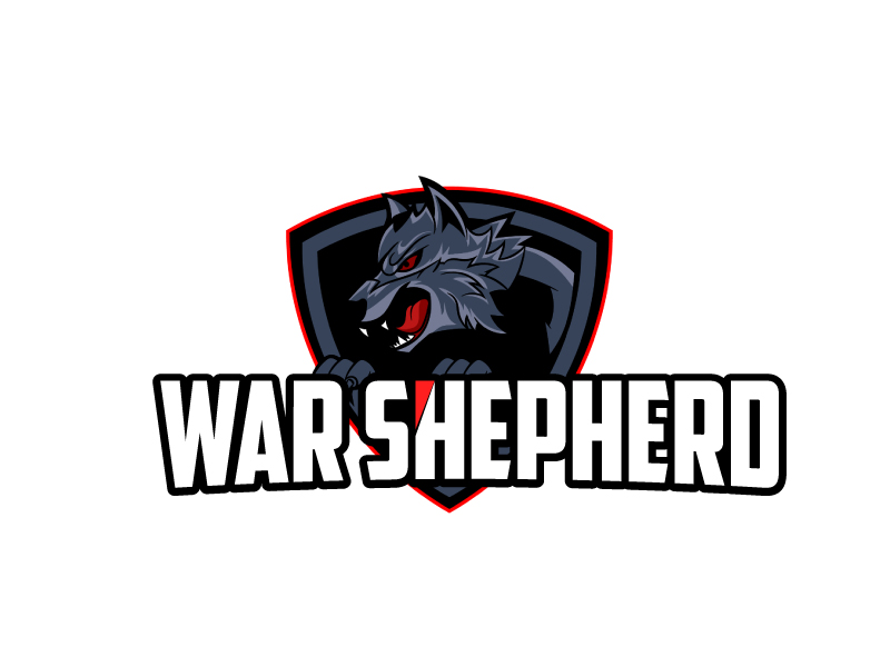 War Shepherd logo design by ElonStark